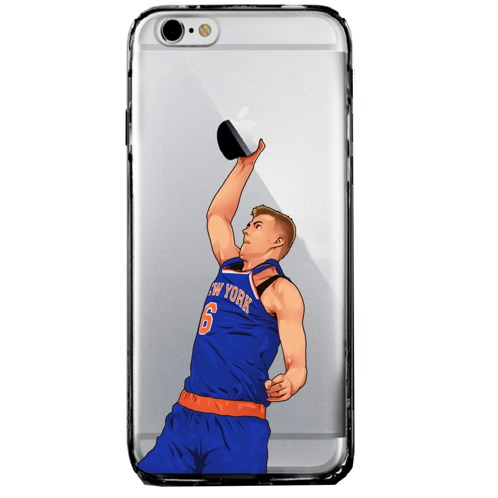 Kristaps Porzingis iPhone cover